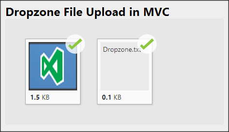 ASP NET MVC: Drag & Drop File Upload with Fallback Browser