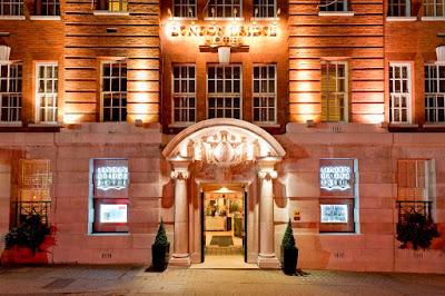 outside the London Bridge hotel