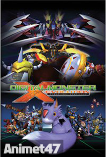 Digimon X-Evolution - Digimon X 2005 Poster