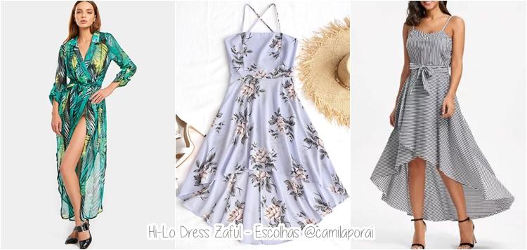 vestido zaful
