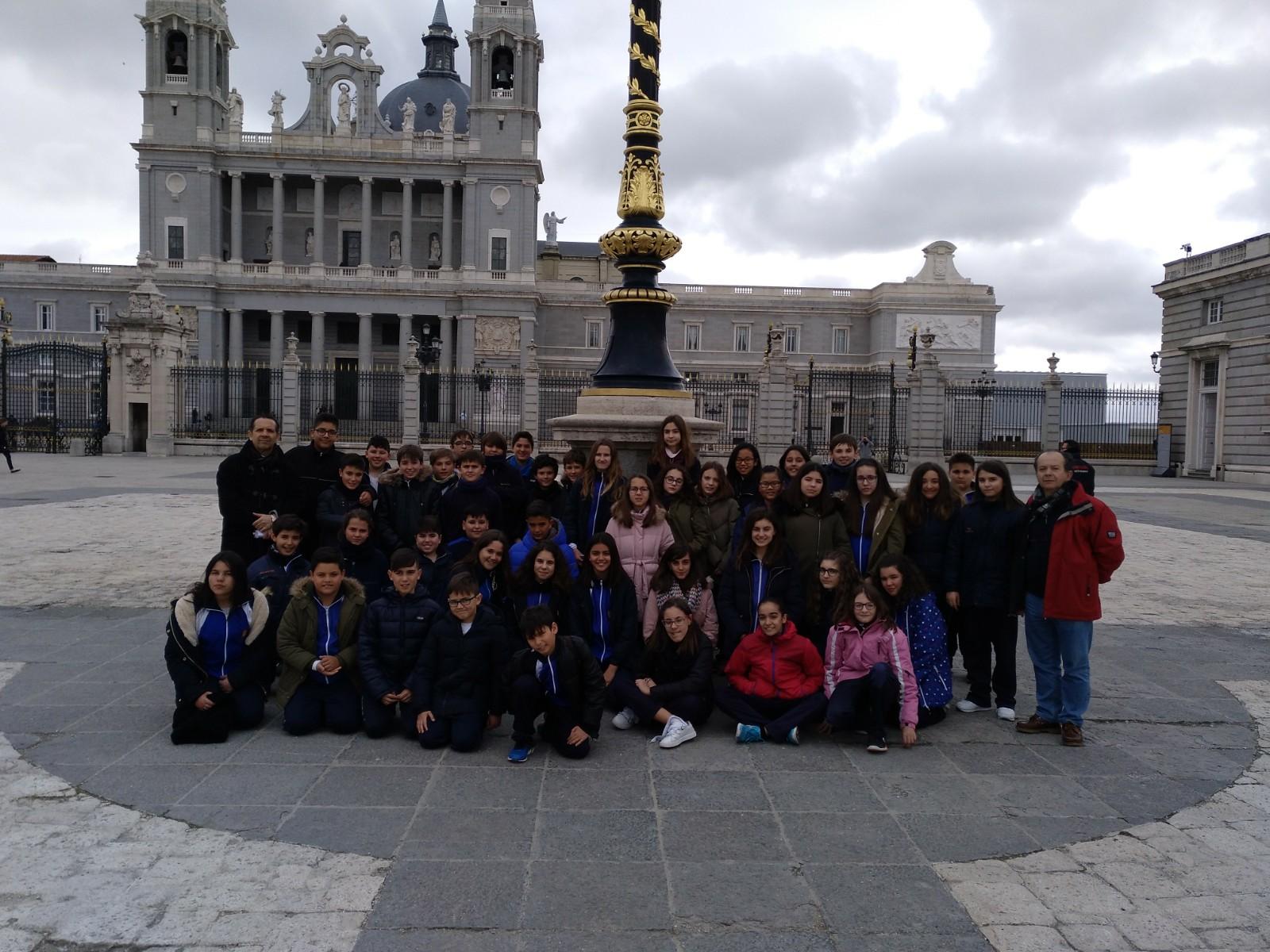 Primer día de 6° Primaria en Madrid | Colegio Ruta de la Plata ...