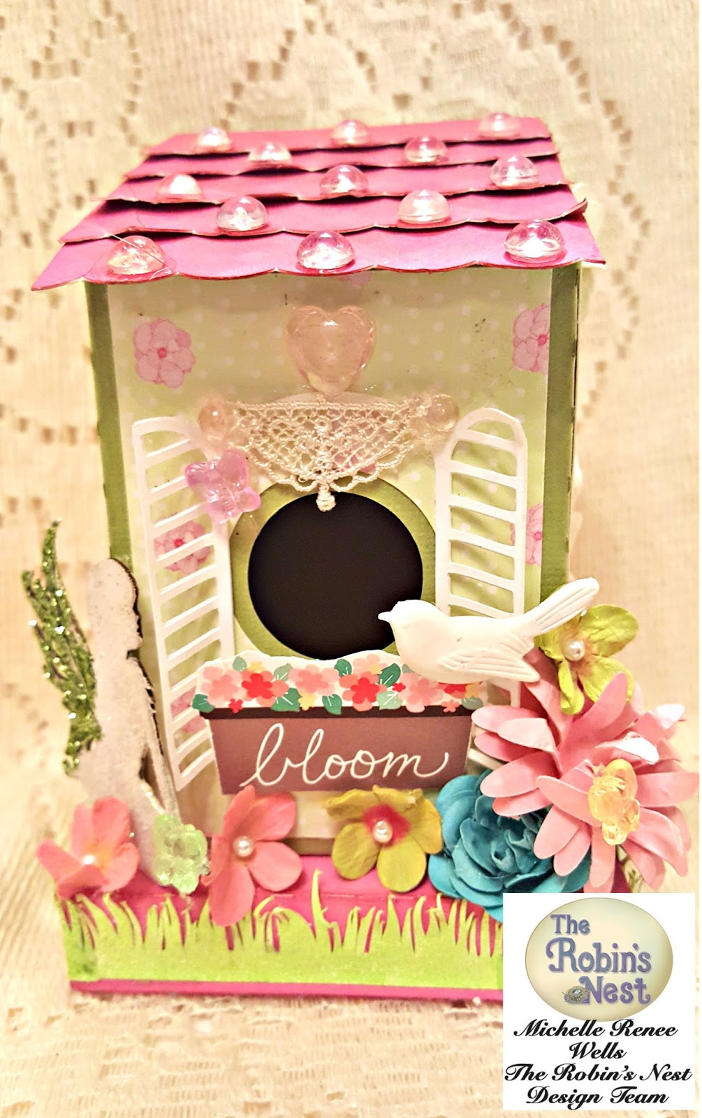 Chattering Robins: A Whimsical & Cheerful Fairy House How ...