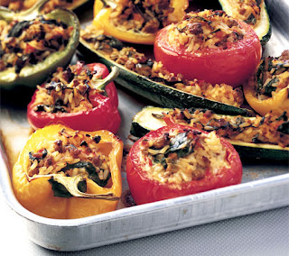 mediterranean stuffed vegetables recipe