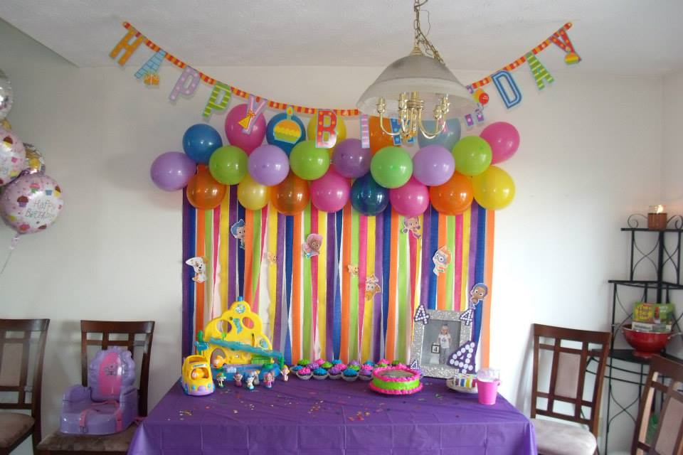 Bubble Guppies Party Decorations