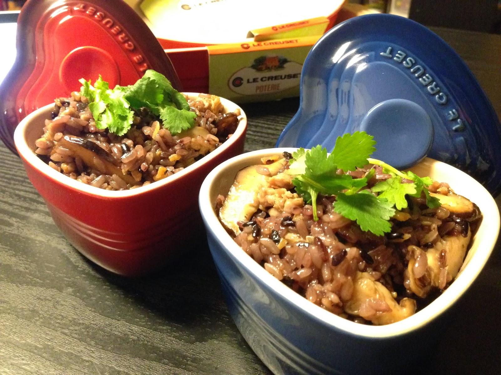 臺式糯米飯 (傳統的油飯健康版)
