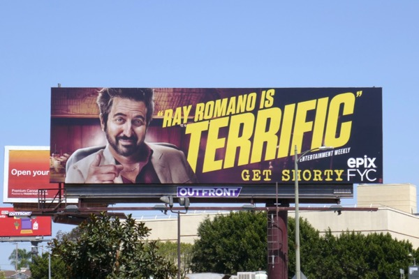 Get Shorty Ray Romano terrific 2018 Emmy FYC billboard