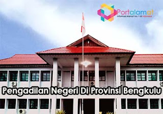 Alamat Kantor Pengadilan Negeri Di Provinsi Bengkulu