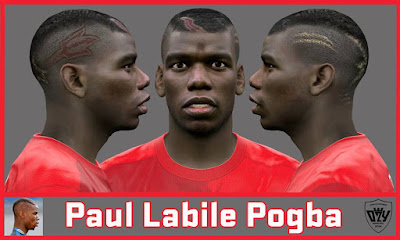 PES 2016 Paul Labile Pogba Face by Ozy_96 PES MOD