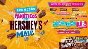 Promoção Fanáticos Por Hershey's Mais