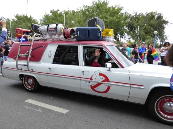 Ghostbusters Ecto 1 LA Pride Parade