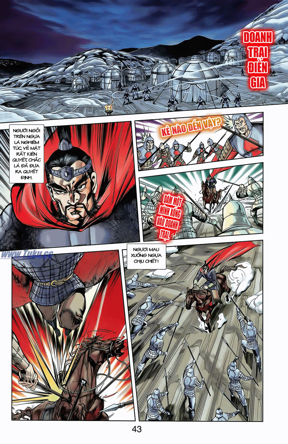 Tần Vương Doanh Chính chapter 10 trang 15