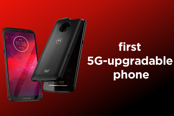 Motorola's Moto Z3 is the world's first 5G-upgradable smartphone