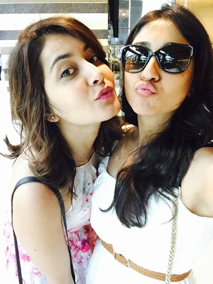 Rashi Khanna And Regina Funny Sexy Photo