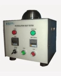 Pin insulation heat tester - alat uji