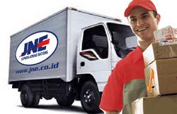 Pengiriman barang via JNE