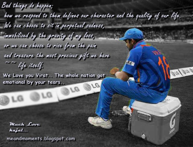 virat kholi, Sad Virat Kholi, loss quotes, Inspirational Images