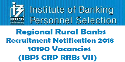 IBPS Regional Rural Banks Common Recruitment Process 2018