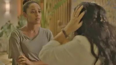 Vitória (Taís Araujo) diz que Sandro (Humberto Carrão)