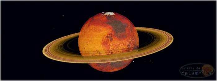 Marte terá anéis como os de Saturno