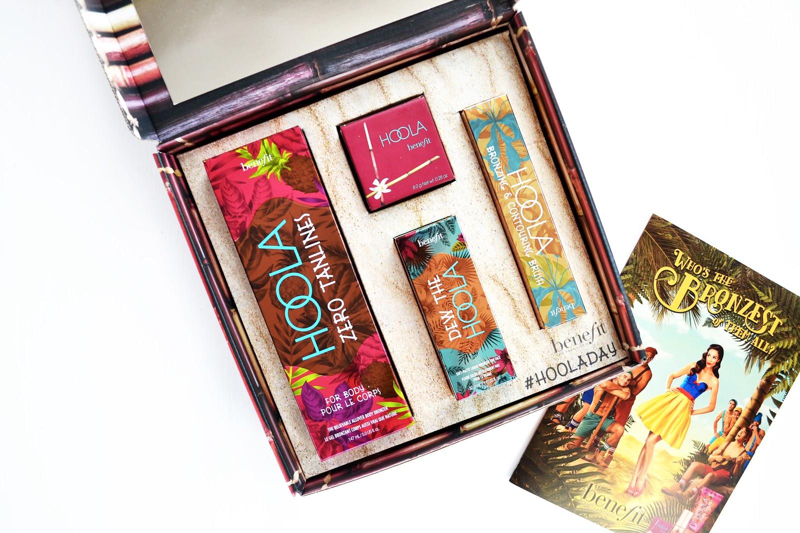 benefit cosmetics hoola range