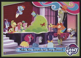 My Little Pony Make New Friends but Keep Discord Series 4 Trading Card