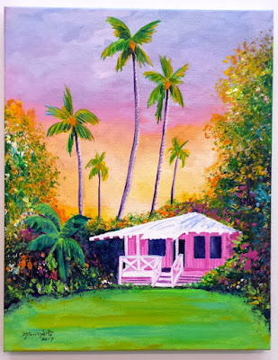 https://www.kauai-fine-art.com/listing/523339368/hawaiian-cottage-whimsical-pink-house
