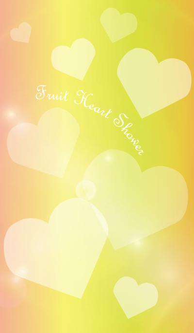 Fruit Heart Shower