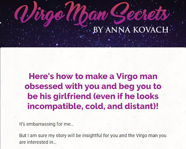 Virgo Man Secrets