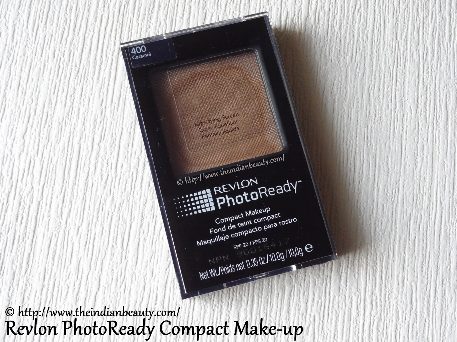 Revlon Photoready Compact Make Up 400 Caramel Review