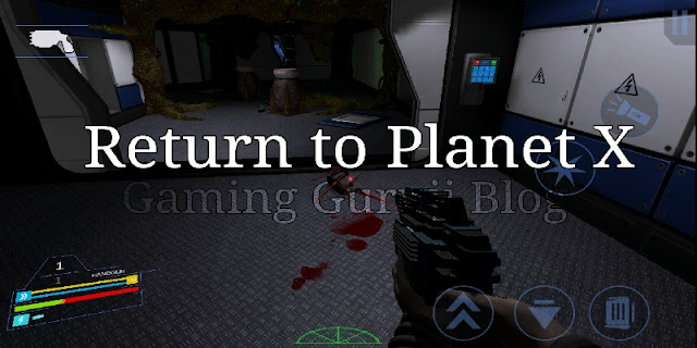 Return to planet x game Android