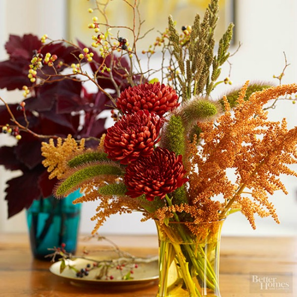 Thanksgiving centerpieces cozy little house