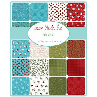 Moda Snow Much Fun Fabric by Deb Strain for Moda Fabrics