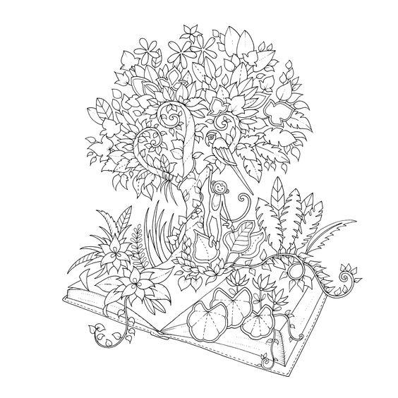 - Free Mandala : Johanna Basford Coloring Pages