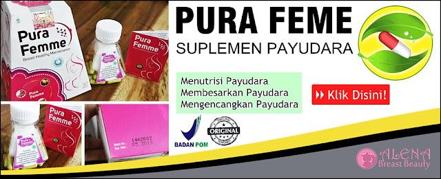 Pura Femme Suplemen Pembesar Payudara Herbal Original BPOM