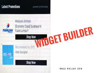 Involve Asia Memperkenalkan Widget Builder Untuk Publisher