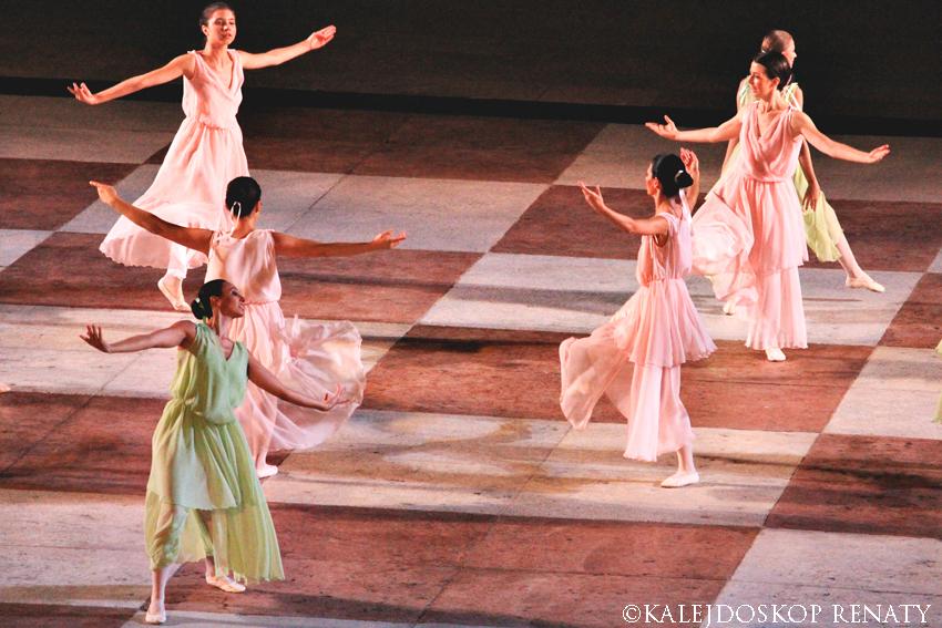 Przedstawienie, balet