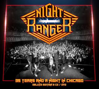"""Το βίντεο με την live απόδοση του ομώνυμου τραγουδιού των Night Ranger από το album """"35 Years and a Night in Chicago"""""""