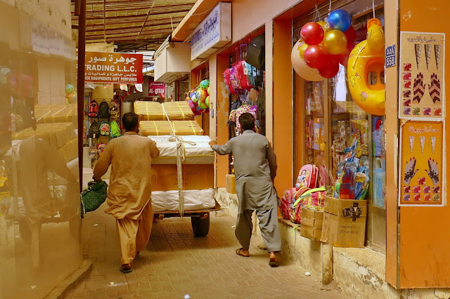 Handwagen, Transport, Souk, Mutrah, Muscat, Oman