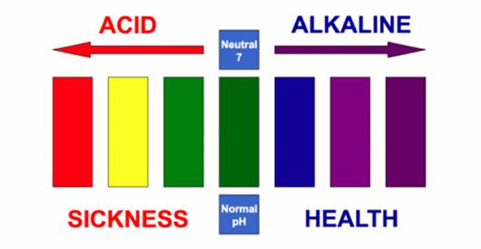 kagen water alkalinization characteristic