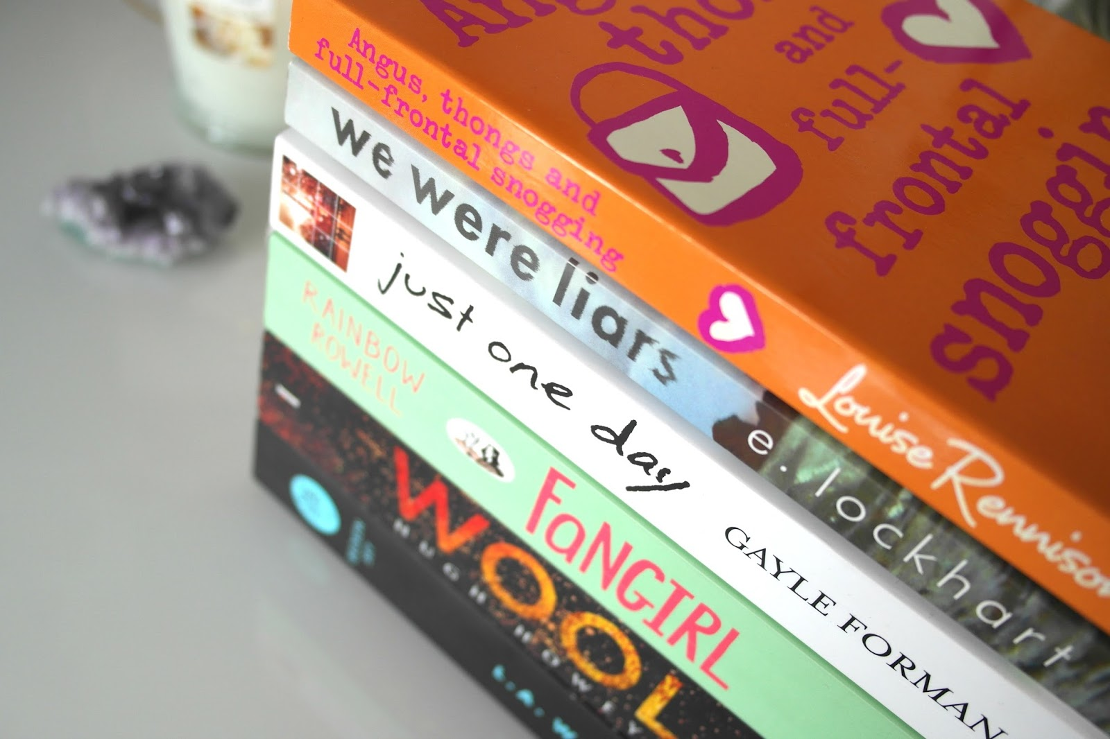 BOOKS: MARCH WRAP UP