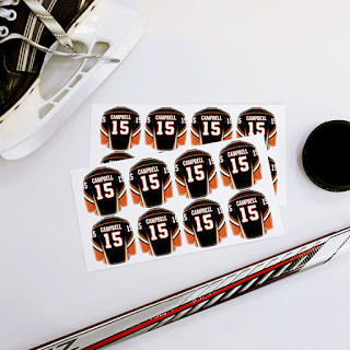 1 name stickers i love labels and these jerseys are perfect for a hockey fan what could be better than being organized not losing things