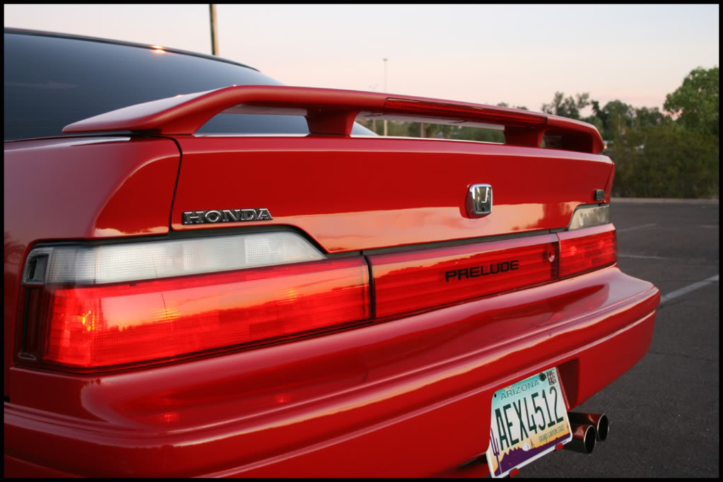 prelude 88 91 3rd honda prelude 4ws 1990 g3 rear view red prelude 88 91 3rd blogger