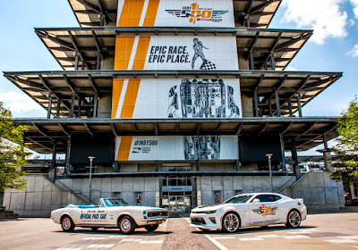 Chevrolet Camaro's History at the Indy 500