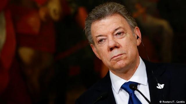 """Santos: """"Migración de venezolanos es el problema más serio de Colombia"""""""