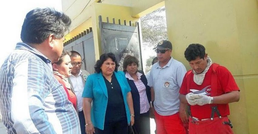 Colegio Fermín Tangüis de Ica se encuentra contaminada con mercurio