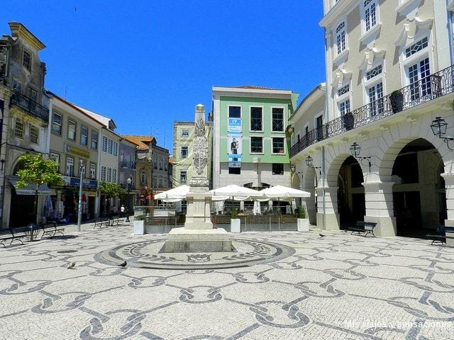 Plaza de Humberto Delgado, Aveiro, Portugal