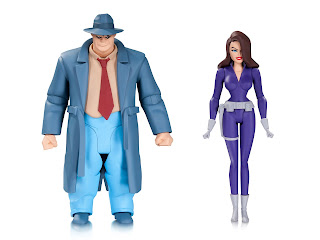 DC Collectibles Batman: The Animated Series Bullock and Talia Figures