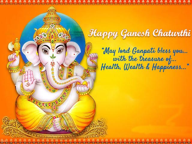 Happy Ganesh Chaturthi Images, Vinayaka Chavathi Images