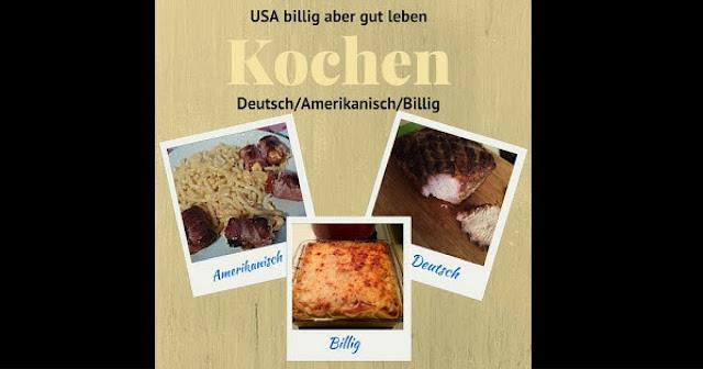 Deutsche und Amerikanische Rezepte
