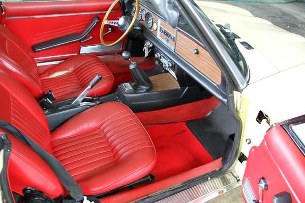 1978 Fiat 124 Sport Spider Auto Restorationice